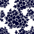 Abstract Elegance Seamless Pattern With Floral Elements Stock Images - 52079254