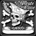 Black Pirate Cove Flag - Jolly Roger Royalty Free Stock Photos - 52084648