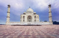 Taj Mahal In India Stock Photo - 52091600
