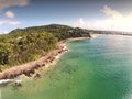 Aerial Picture Image Of Surfers Noosa Stock Images - 52097954