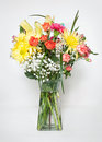 Spring Bouquet With Card Stock Image - 52117821