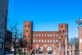 The Palatine Towers In Turin Royalty Free Stock Photo - 52127495