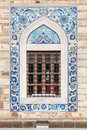 Arabic Style Tiling Pattern, Decoration Of Old Mosque Window Stock Photo - 52132380