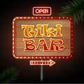 Neon Sign. Tiki Bar Stock Images - 52153494