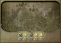 Steampunk Panel Control Board Empty Royalty Free Stock Images - 52177099