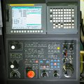 Front View On Cnc Milling Machine Control Panel Royalty Free Stock Photography - 52180777