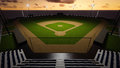 Baseball Stadium Royalty Free Stock Image - 52180996