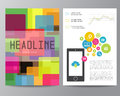 Booklet, Magazine Poster, Flyer, Abstract Banner Royalty Free Stock Photo - 52193465