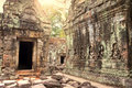 Ruins Of Ancient Temple Lost In Jungle Stock Photography - 52205882