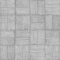 Old Parquet Floor Background - Vector Monochrome Grunge Element Royalty Free Stock Photos - 52206398