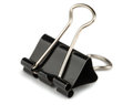 Paper Binder Clip Royalty Free Stock Photo - 52209305
