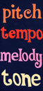 Pitch Tempo Melody Tone Stock Photo - 52212420