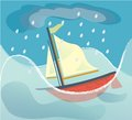 A Sinking Ship Royalty Free Stock Photography - 52213207