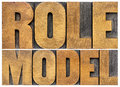 Role Model Typography Royalty Free Stock Photos - 52240538
