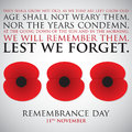 Remembrance Day Stock Photography - 52274052