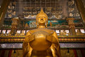 Big Golden Buddha Statue Royalty Free Stock Images - 52282669