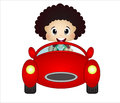 Little Boy Playing With His Car Toy Stock Photos - 52289933