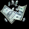 Money Puzzle Stock Photography - 5231822