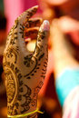 Indian Wedding Bride Getting Henna Applied Royalty Free Stock Photo - 5233955