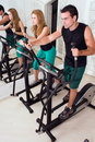 Couple At The Gym Stock Photo - 5234900