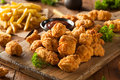 Homemade Crispy Popcorn Chicken Royalty Free Stock Image - 52324866