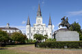 Jackson Square Royalty Free Stock Photo - 52328595