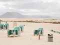 The Beach On A Windy Day Royalty Free Stock Image - 52338916