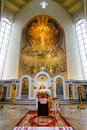 Iconostasis In Orthodox Cathedral Royalty Free Stock Images - 52354119