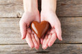 Chocolate Heart Royalty Free Stock Images - 52367099