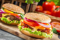 Hamburgers Stock Photos - 52369733