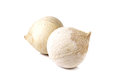 Young Coconut On White Royalty Free Stock Photography - 52396567