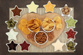 Party Snacks Stock Image - 52398591