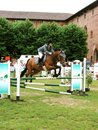 Horse Jumping Show Stock Photo - 5247330