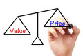 Value And Price Balance Stock Image - 52400551