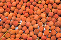 Litchi On A Market Royalty Free Stock Image - 52414966