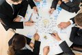 Group Of Businesspeople Planning For Startup Stock Photography - 52415812