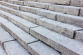 Large Gray Stone Steps Stock Images - 52423044