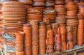 Clay Pots With Arts Royalty Free Stock Images - 52434069