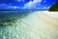 White Coral Sand Beach Royalty Free Stock Image - 52439866