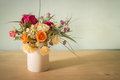 Flowers In Vase Stock Photos - 52449693