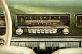 Retro Styled Image Of An Old Car Radio Royalty Free Stock Images - 52458889