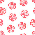Roses Seamless Pattern Stock Photography - 52464702