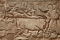 Relief Figures In Egyptian Temple Royalty Free Stock Image - 52468026