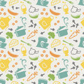 Kitchen Seamless Pattern. Vector Background. Stock Photography - 52503502