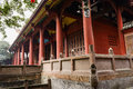 Balustrades And Columns Of Ancient Chinese Building Royalty Free Stock Image - 52560026