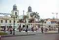 Luanda Cathedral Square, Angola - African Cityscape Royalty Free Stock Photography - 52566297