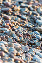 Stones On Beach And Sea Water Royalty Free Stock Photo - 52571485
