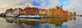 Old Gdansk Harbor With Ships Mooring Royalty Free Stock Photos - 52592468