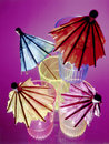 Colorful Umbrellas In Shot Glasses Stock Images - 5262034