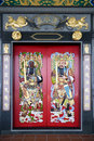 Chinese Temple Doors Royalty Free Stock Photography - 5262097